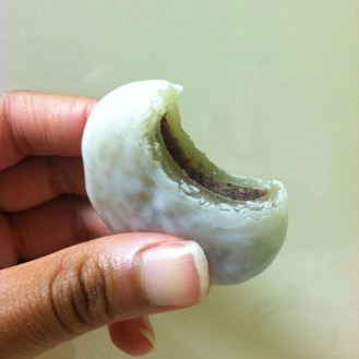 red bean rice cake. stick to the fresh ones.