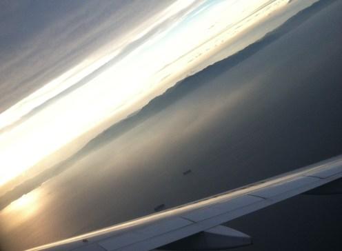 leaving Japan.
