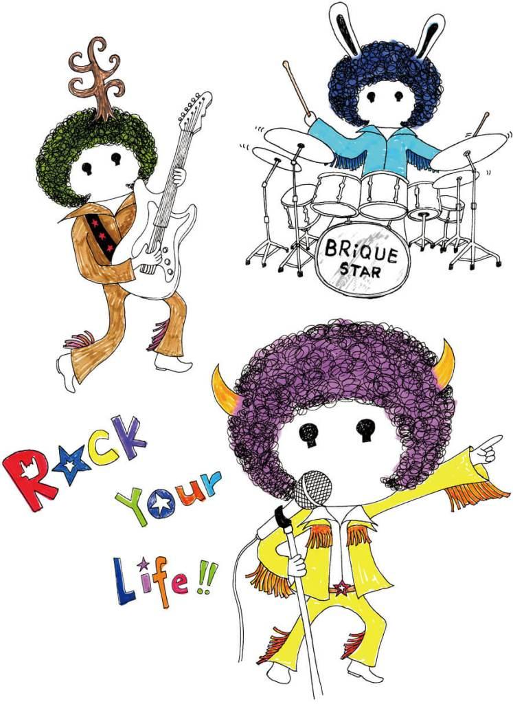 作品集_rock your life
