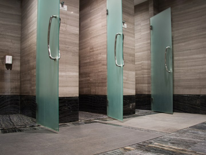 shower amenities