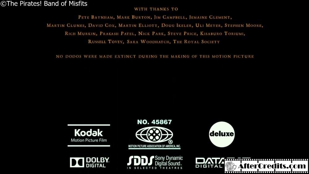 End Credits Logo Mpaa No