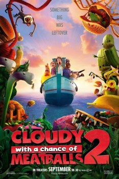 CloudyWithAChanceOfMeatballs2Poster