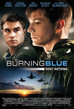 BurningBluePoster