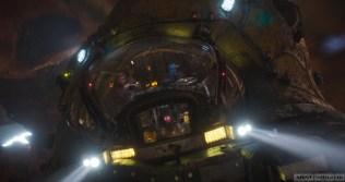 Guardians Of The Galaxy Vol. 2 L to R: Star-Lord/Peter Quill (Chris Pratt) and Yondu (Michael Rooker) Ph: Film Frame ©Marvel Studios 2017