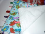 Taggie-Style Blanket