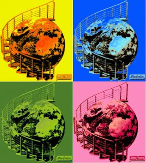 Il mondo è fatto a scale (Warhol edition)