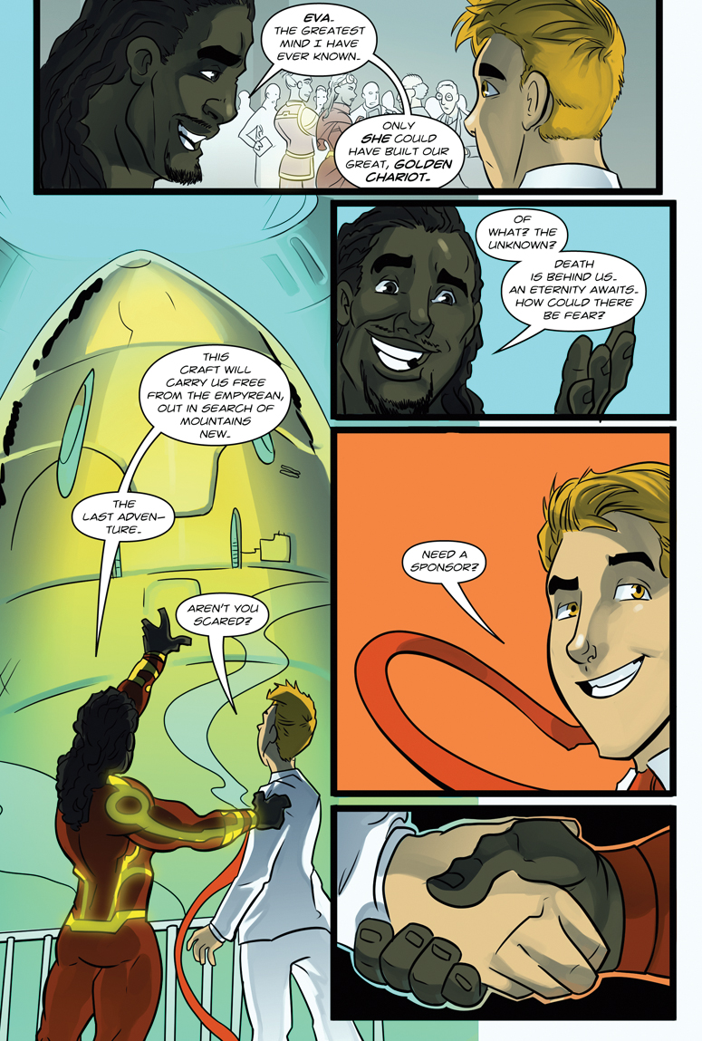 Afterlife Inc. Volume 4: Man Made God Page 31