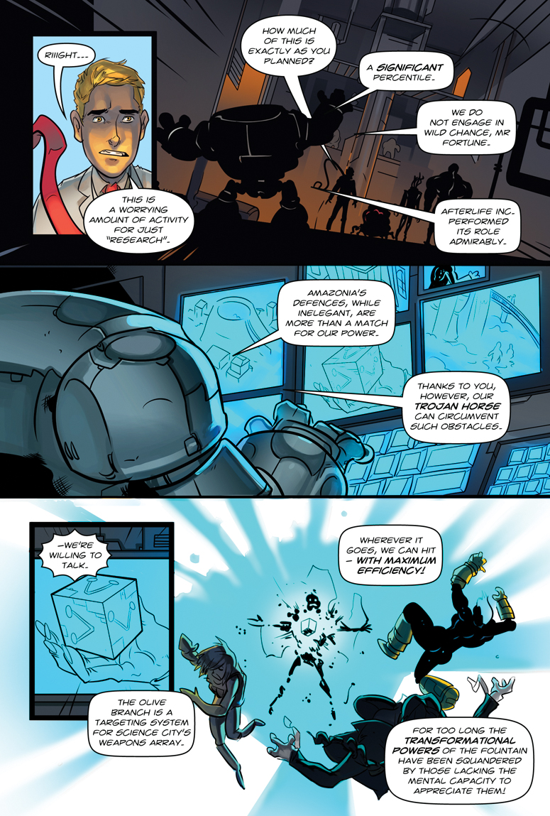 Afterlife Inc. Volume 4: Man Made God Page 43