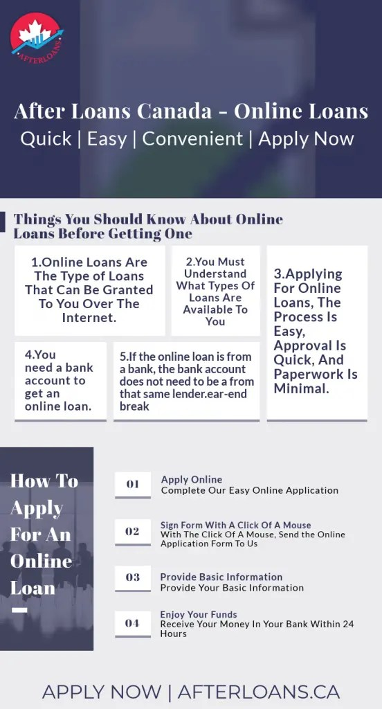 Online Loans Infographic