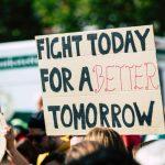 Demonstration gegen den Klimawandel