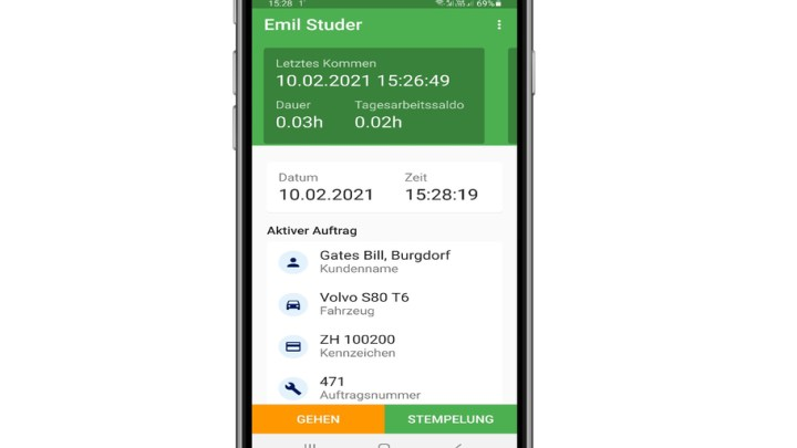 Stieger Time App