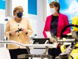 IAA mobility 2021 - Eröffnung Müller und Merkel