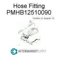 PMHB15012590 - Hose Fitting fits John Deere | AFTERMARKET ...