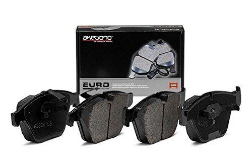 Disc Brake Pad Set-Euro Ultra Premium Ceramic Pads Rear Akebono EUR1018