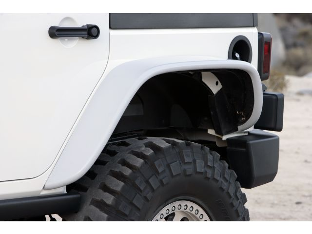 Xenon Flat Fender Style Flare Kit For 07 15 Jeep JK