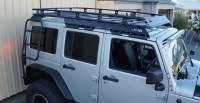 JPA Contour HD2 Roof Rack System for 4 Door Unlimited JK
