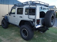 2015 JK Wrangler 4 door Unlimited Contour Roof Rack System