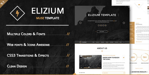 Elizium Muse Template