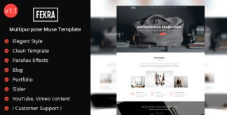Fekra Muse template
