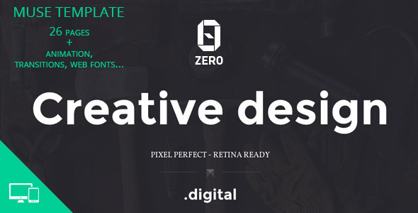 ZER0 Muse template