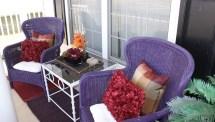 Purple Porch Afternoon Artist