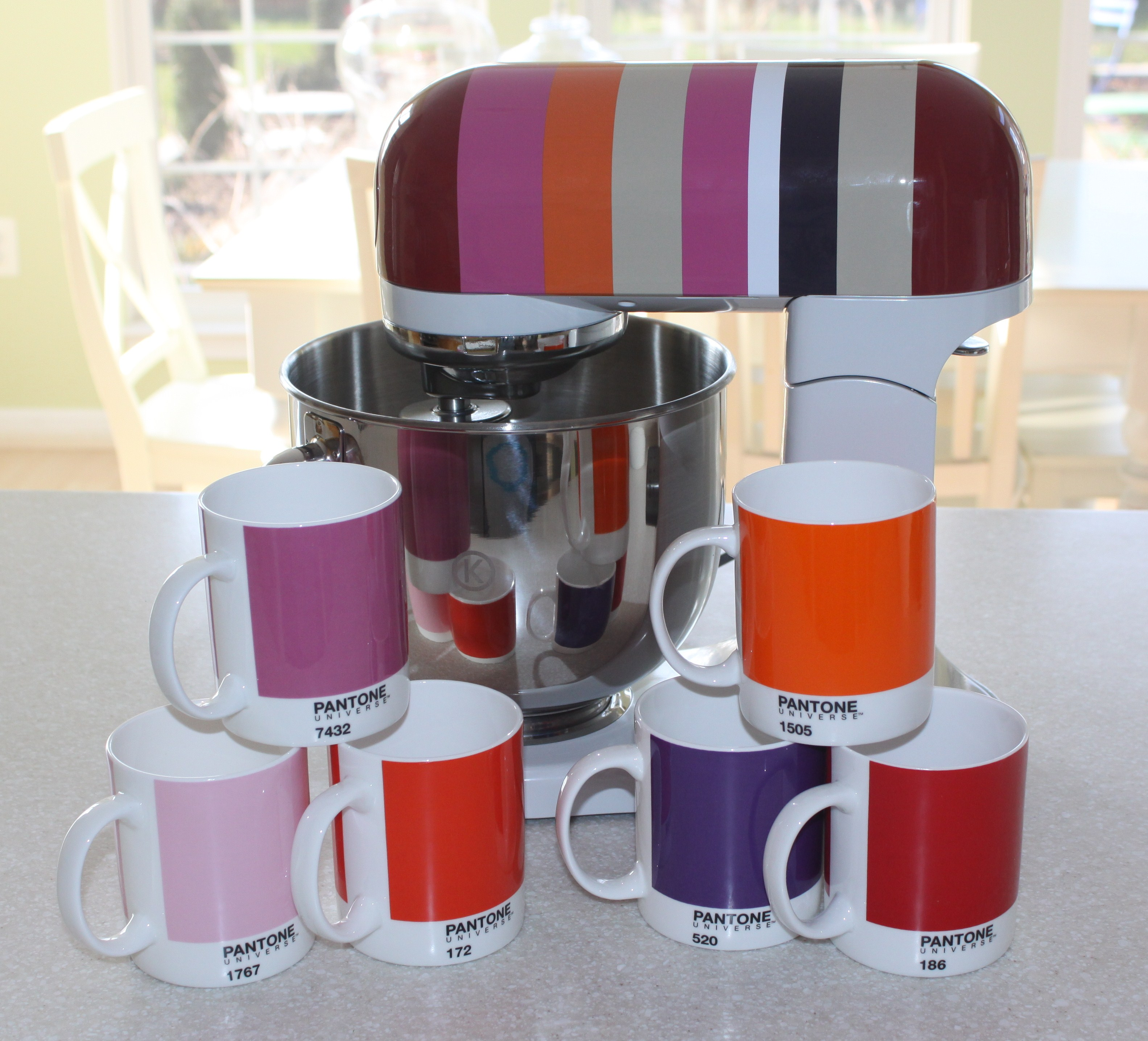 colorful kitchen accessories space saving table afternoon artist