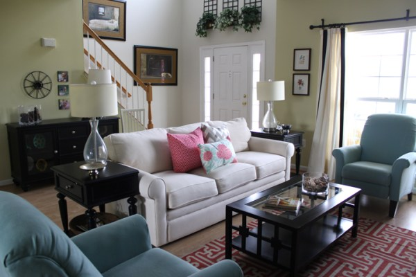 small living room decorating ideas on a budget Making an Entrance | Afternoon Artist