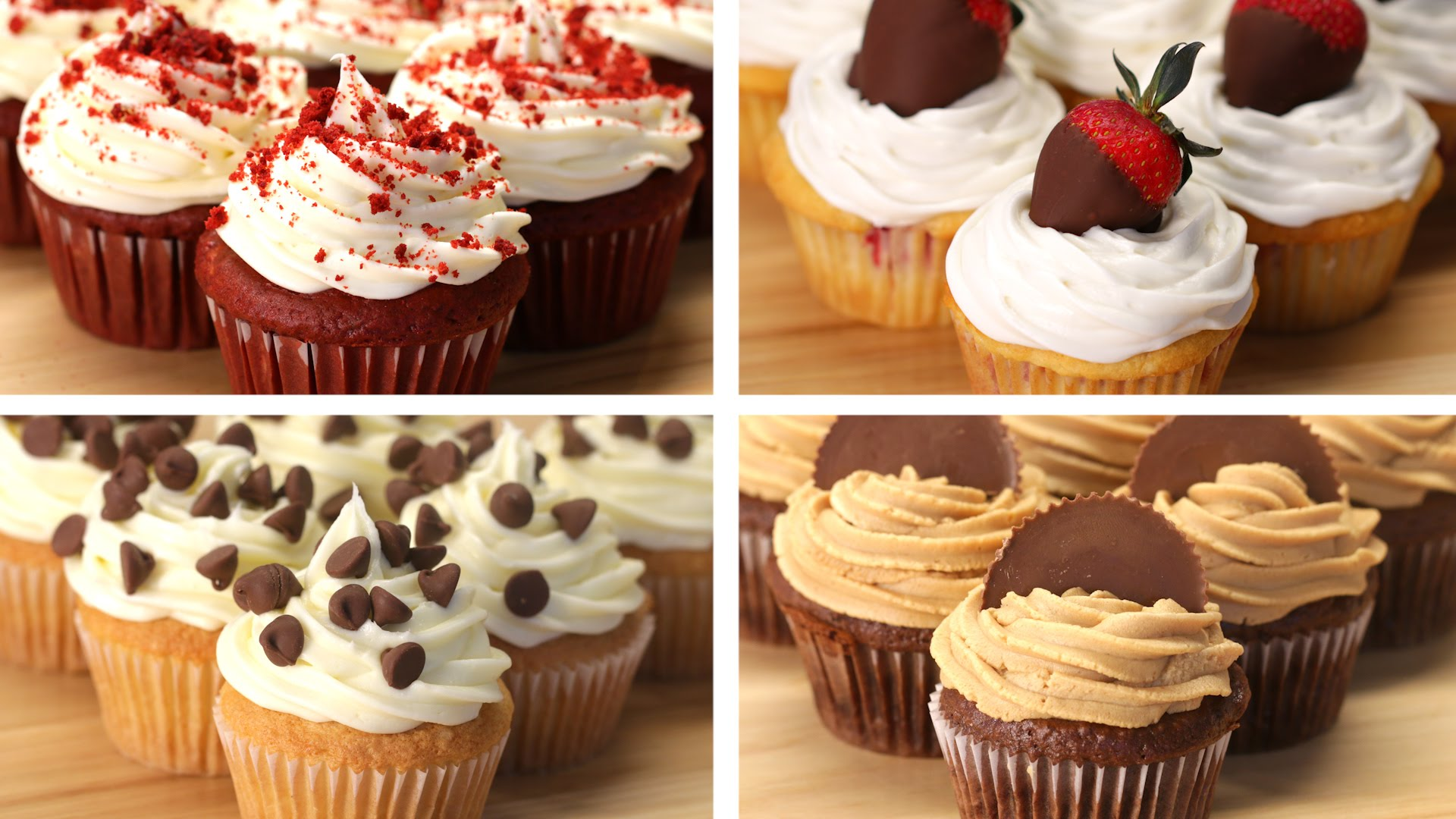 What Amazing Cupcakes 4 Different Ways