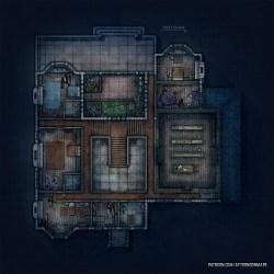 Battlemap D&d Cabin Map 14