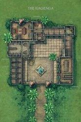 Battlemap D&d Cabin Map 13