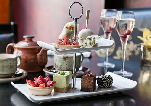 Afternoon Tea at BuddhaBar Restaurant  London