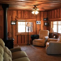 MY LOG CABIN LIVING ROOM RENOVATION - After Orange County