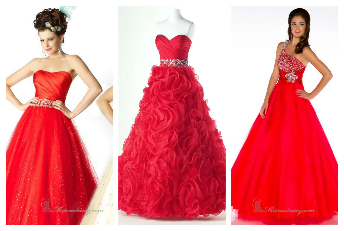 Ravishing Red Prom Dresses!