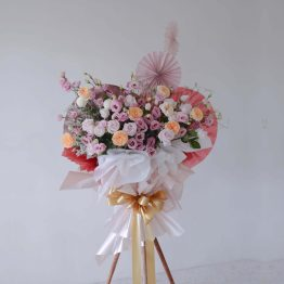 Grand Opening Stand by AFTERRAINFLORIST