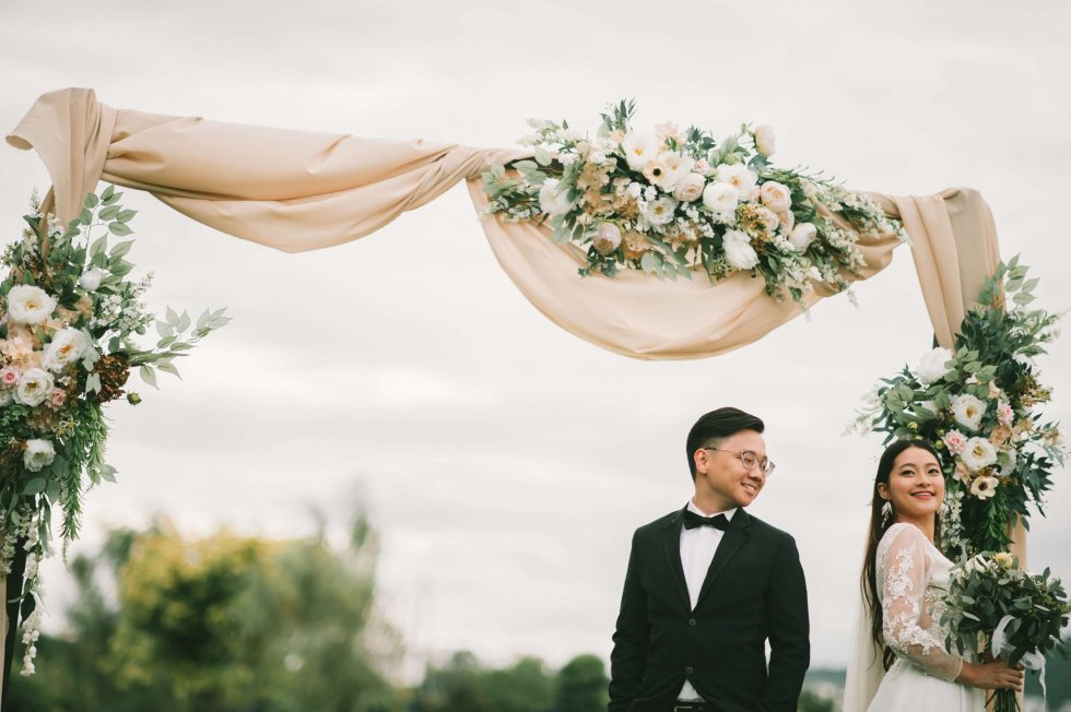 Wedding Decoration Rustic Theme Style Inspired by AfterRainFlorist