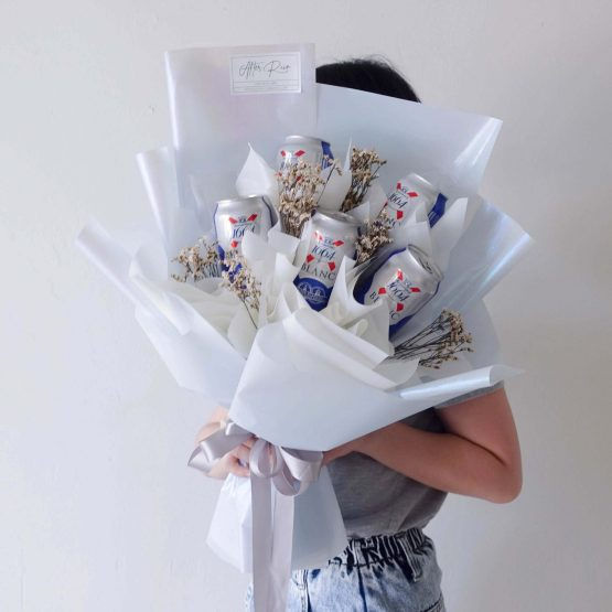Men's Birthday Creative Gift 1664 Blanc Beer Bouquet by AfterRainFLorist, PJ (Malaysia) online Florist,KL & Selangor / Klang Valley Flower Delivery Service