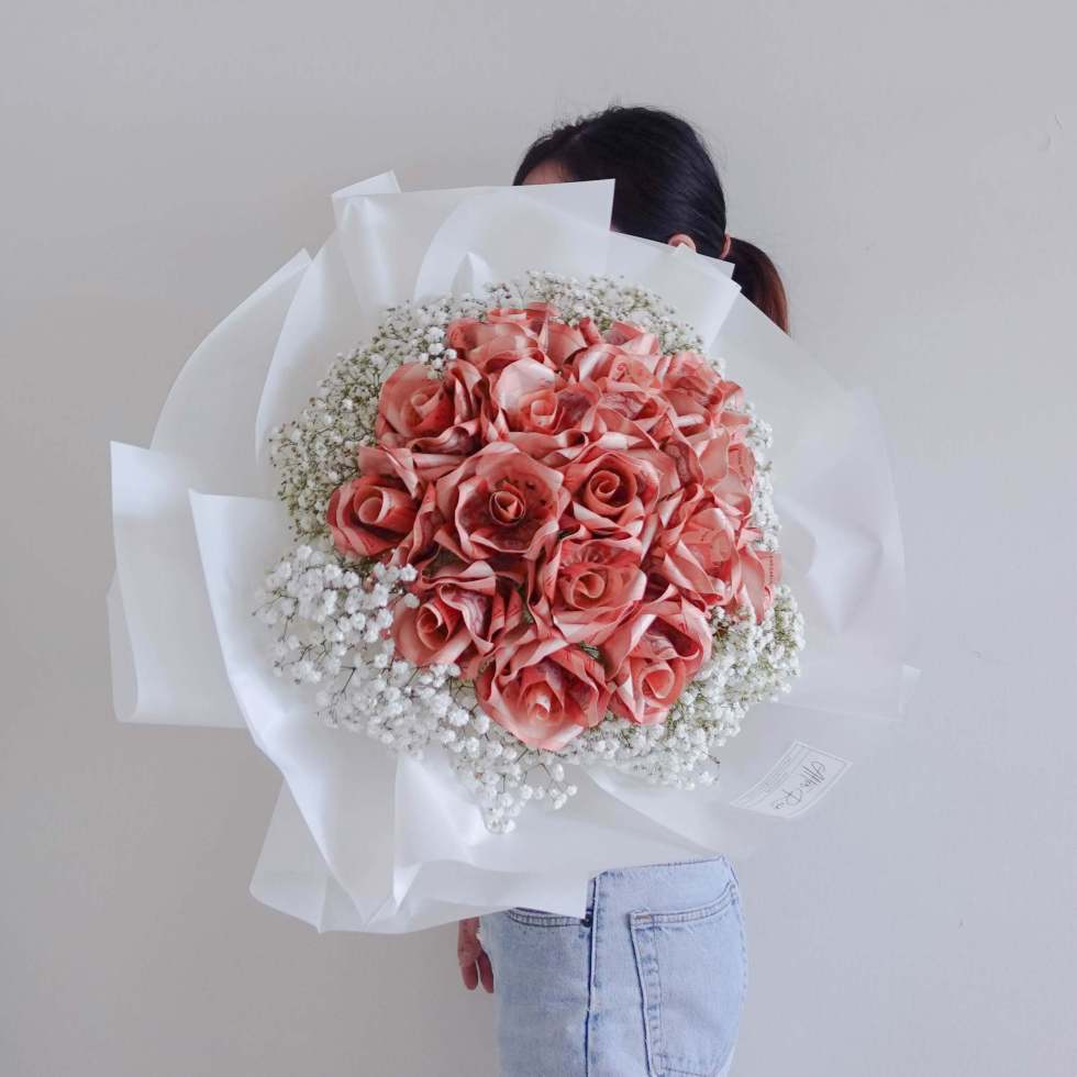 Mother's Day Birthday 2021 Premier Money Bouquet by AfterRainFLorist, PJ (Malaysia) online Florist,KL & Selangor / Klang Valley Flower Delivery Service