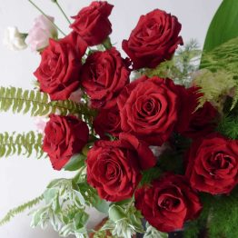 Extravagant Red Rose Big Elegant Flower Box by AfterRainFLorist PJ Malaysia online Florist KL Selangor Klang Valley Flower Delivery Service