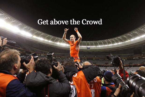 ordinary people get above the crowd
