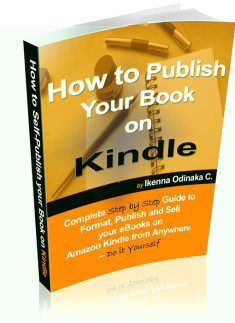 How to Publish your book on Kindle