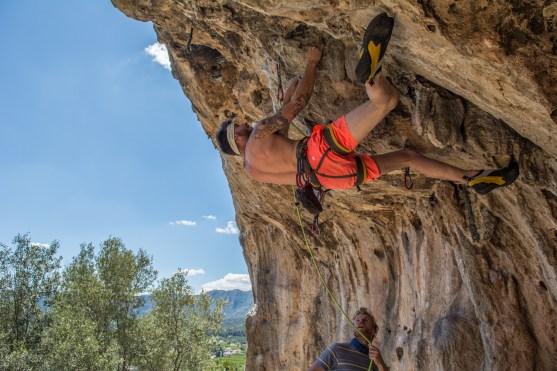 Pymn getting horizontal in Gandia.