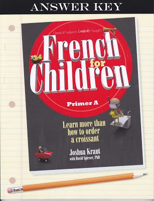French for Children Answer Key