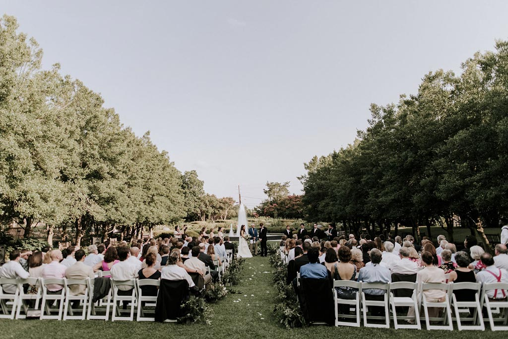 Wedding Photo Gallery  Texas Discovery Gardens  Dallas  After Yes