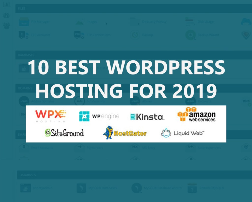 10 Best WordPress Hosting for 2019