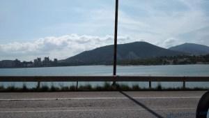 Вид на вантовый мост в Халкиде
