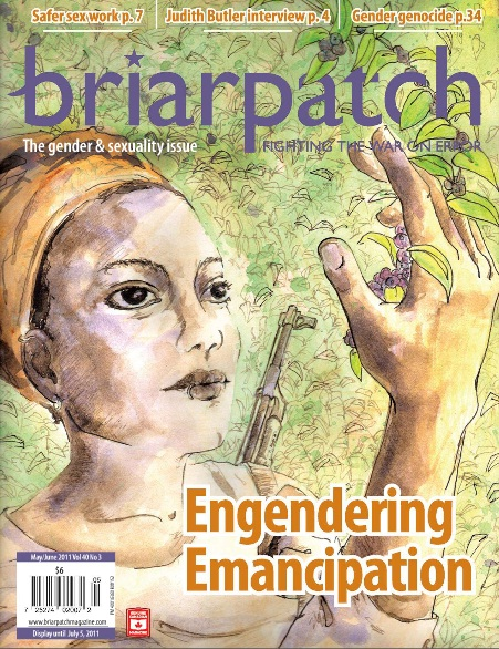 Briarpatch cover art May/June 2011