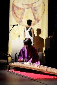 Anu - The Mother inter-arts performance with Kozue Matsumoto