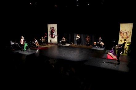 Anu - The Mother inter-arts performance