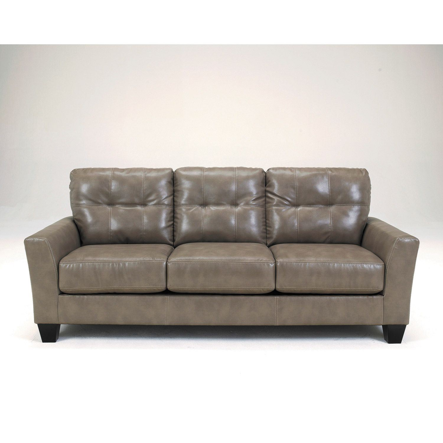 ashley bonded leather sectional sofa manhattan rattan set quarry 0b2 270s 2700138 afw