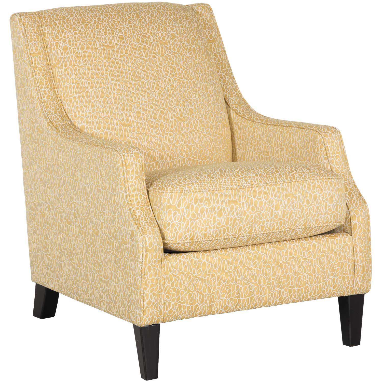 Yellow Side Chair Cresson Yellow Accent Chair Y 549acnt Ashley Furniture Afw